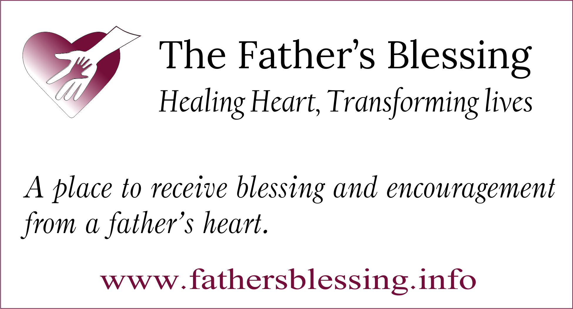 The Father's Blessing